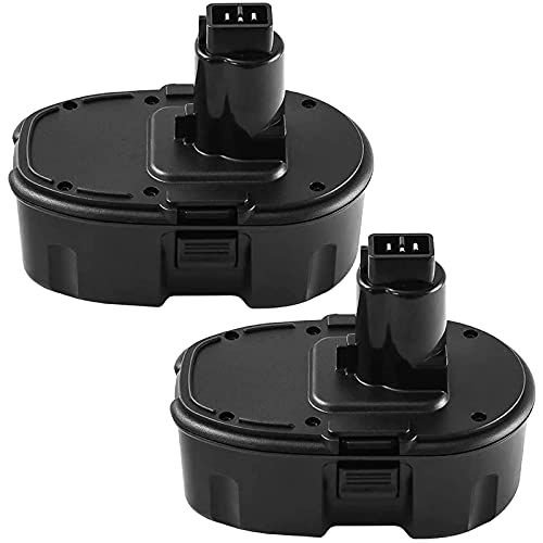 Replacement for Dewalt 18V 3.6Ah Ni-MH Battery XPR DC9096 DC9098 DC9099 DC970 DW9095 DW9096 DW9098 DW9099 DE9039 DE9095 DE9096 DE9098 DE9503 2Packs