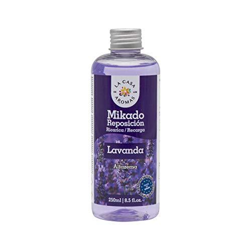 La Casa de los Aromas Mikado Reposicion 250 Ml Sin Varillas (Lavanda, 1)