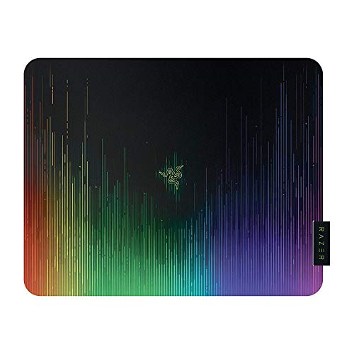 Razer Sphex V2 Mini Ultra Thin Polycarbonate Gaming Mouse Mat (Adhesive Base Gaming Mouse Pad for All Mouse Sensors in Chroma Design)