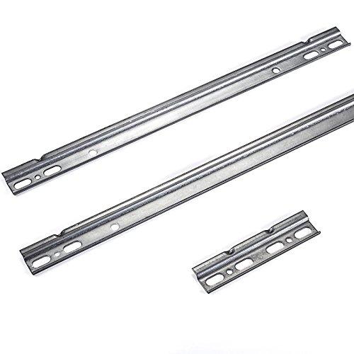SO-TECH® Schrankaufhänger Aufhängeschiene 950 mm Schrankschiene Wandschiene f. Hängeschrank (Schrankbreite 1000 mm)