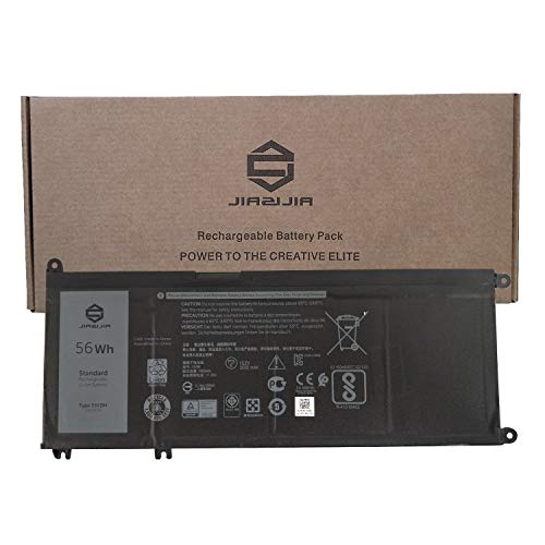 JIAZIJIA 33YDH Laptop Battery Replacement for Dell Inspiron 7577 7773 7778 7779 7786 G3 3579 3779 G5 5587 G7 7588 Latitude 3590 Vostro 7570 7580 Series PVHT1 99NF2 15.2V 56Wh 3500mAh