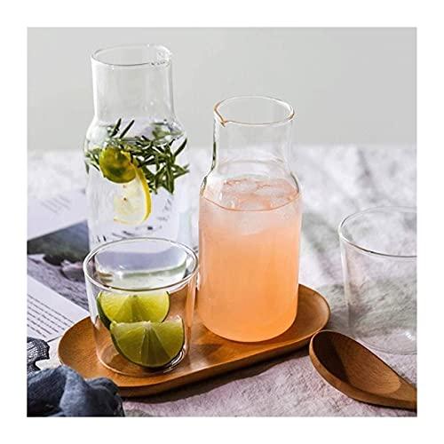 DGHJK Teteras Copas de Vino sin Tallo Taza de Desayuno Taza de Jugo Taza de Bebida Hogar Transparente Regalo Creativo Apto para microondas y lavavajillas Resistente al Calor / 1987