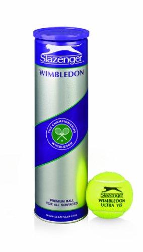 Dunlop Sports Slazenger Wimbledon 4-Ball Can