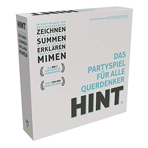 Asmodee Bezzerwizzer BEZD0001 HINT, Party-Spiel, Deutsch