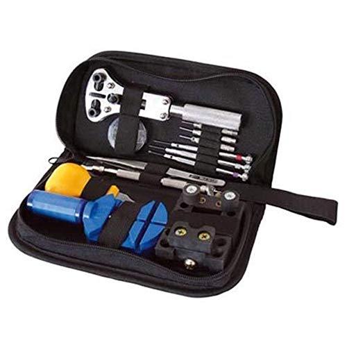 Mega Uhrmacherwerkzeug Set + Federstege 9-25mm Reparaturset Uhren Werkzeug