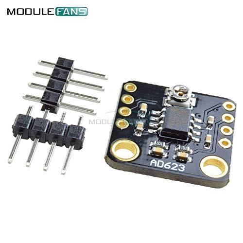 AD623 ProgrammierBarer Gain-InstrumentenVerstärker CMRR Max 200Hz Digital DC Instrument Amplifier Board Modul