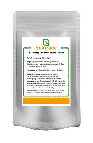 100 g Tryptophan Pulver – Tryptophane | L-Tryptophan | Fitness | Sport | Schlaf
