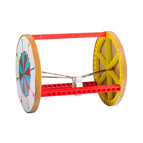AchidistviQ Kits de ciencias robóticas de montaje electrónico, mini equilibrio de coche eléctrico DIY experimentos de ciencia kits de construcción para niños y niñas 1 #