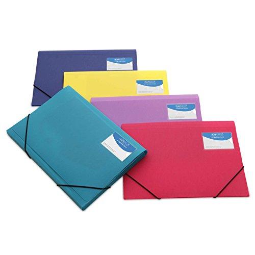 Rapesco documentos - Carpeta de tres solapas A4+, colores...