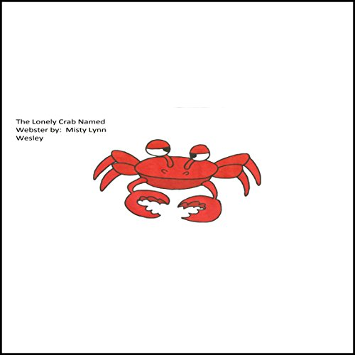 The Lonely Crab named Webster audiobook cover art