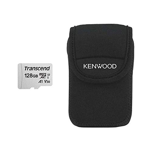 Kenwood 128GB Ultra Micro SDXC-Card + FOC Carry Case