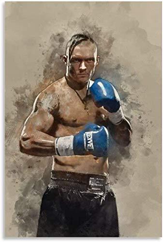 Puzzle 300 Piezas Adultos Niños Rompecabezas Boxeador Oleksandr Usyk 15.7x11inch(40x28cm) Sin Marco
