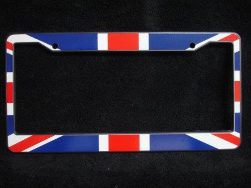 Car License Plate Holder/Frame : British Union Jack Flag