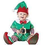 FRAUIT Natale Neonato Elfo Completo Babbo Natalizio Bambina Bambino Set di Abbigliamento Neonata...
