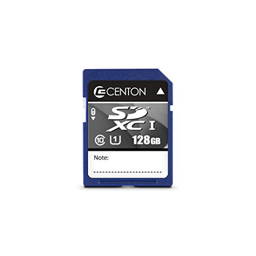 Centon Electronics Flash Memory Card (S1-SDXU1-128G)