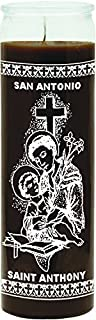 INDIO 7 Day Religious Candle St. Anthony - Brown