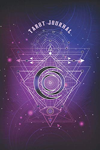 Tarot Journal: Tarot Cards Reading Journal Notebook to Track Daily Readings and Interpretations (3 Card Spread) | Pagan Wiccan Mystical Tarot Diary ... Sacred Geometry Art (Premium Cream Paper)