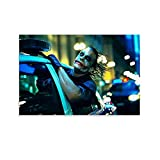 SHIJAIN Joker Heath Ledger Auto-Poster, dekoratives