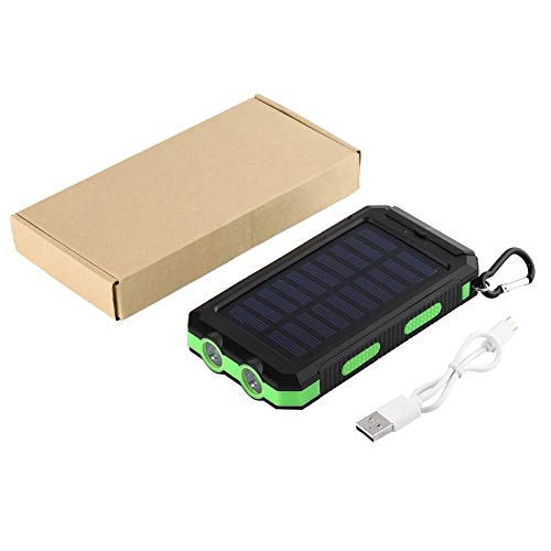 BianchiPatricia 4000mAh Dual USB Waterproof Solar Power Bank External Battery Charger