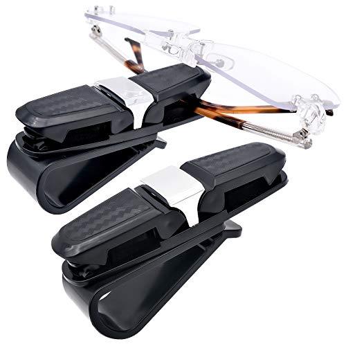 porta occhiali magnetico 2 pezzi porta occhiali per aletta parasole auto