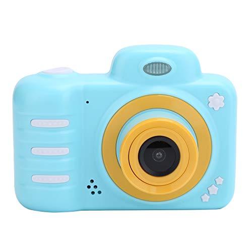 Cámara Para Niños, Cámara Digital Para Niños Con Pantalla Full HD 1080P de 2.4In Para Niños y Niñas, Los Mejores Regalos de Cumpleaños para Niños de 3 A 12 Años(azul)