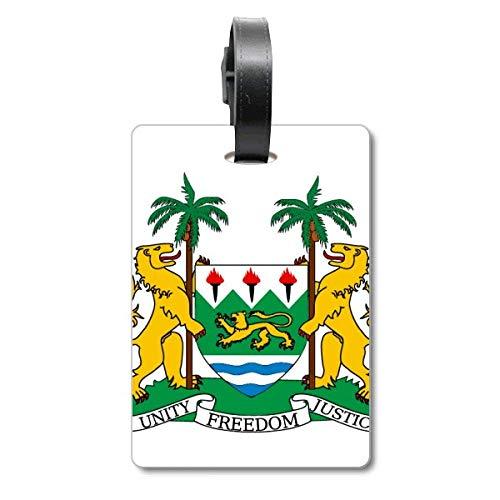 Etiqueta de identificación para Maleta con el Emblema