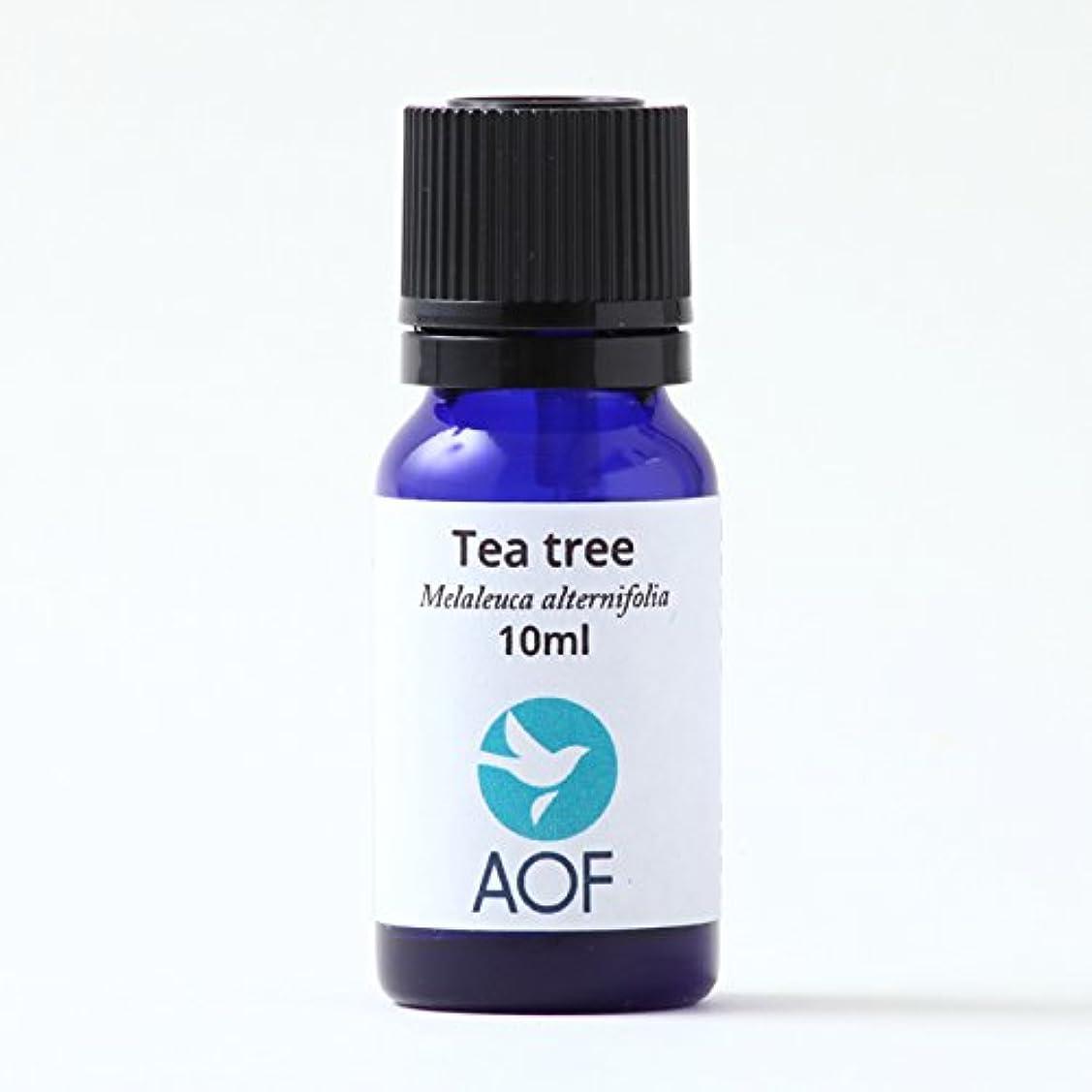 貢献代理店賠償AOF ティートゥリーエッセンシャルオイル teatree essential oil 10ml