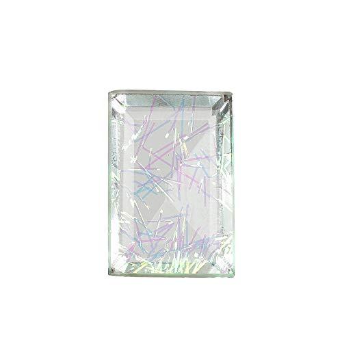 GEMHUB Dublet de cristal multicolor de calidad superior A+83.25 quilates en forma de esmeralda colgante y fabricación de joyas