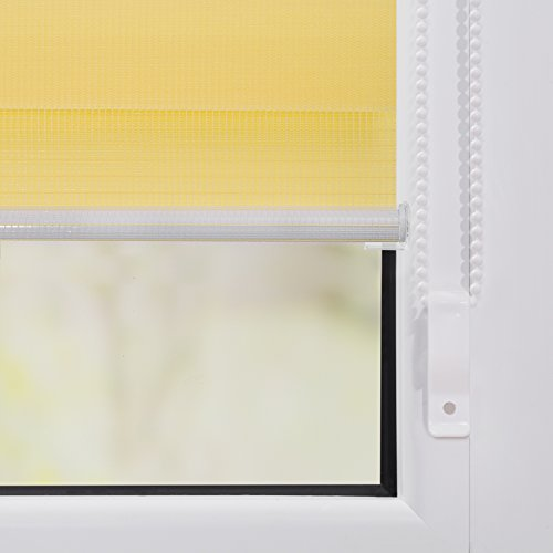 Doppelrollo Gelb LICHTBLICK - 4