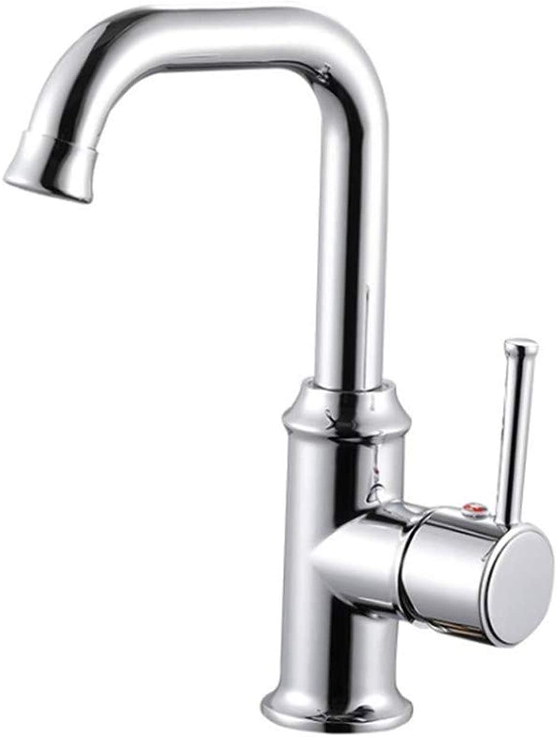 Water Tap Kitchen Taps Faucet Modern Kitchen Sink Taps Stainless Steelthe 360-Degree redating Faucet in The Sink of The Cold and Hot Dishwasher