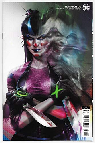 Batman #98 Mattina Card Stock Variant   Joker War (DC, 2020) NM