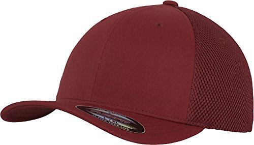 Flexfit Flexfit Erwachsene Mütze Tactel Mesh, Maroon, S/M, 6533