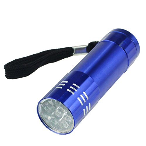 Pequeña luz LED linterna impermeable de la luz de la lá