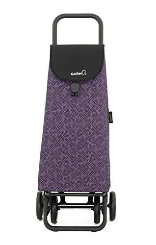 Garmol Einkaufstrolley 55L violett und schwarz
