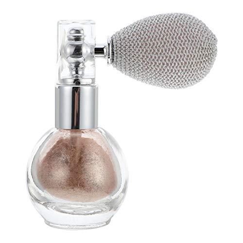 FRCOLOR Spray en Polvo con Brillo Polvo Compacto en Polvo Suelto en Aerosol en Polvo Brillante Maquillaje para El Cuerpo Resaltador Brillante Cosmético (Champán)