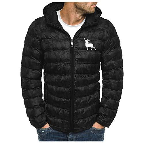 KaloryWee 2020 Damen Winter Daunenjacke mit Kapuze,Stehkragen Dick Warme Strickjacke Baumwollkleidung Übergangsjacke Kälteschutz Mantel