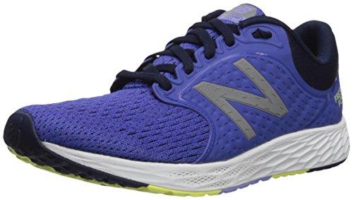 New Balance Women's Hierro v3 Fresh Foam Trail Running Shoe,blue iris/pigment,9.5 B US