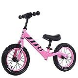 Bicicleta de Balance de Niños 12'Bicicleta de Equilibrio para Niños Pequeños de 2 a 6 Años de Edad de Acero Al Carbono Ninguna Pedal de Balance de Bicicleta/B / 14inch