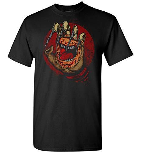 WILLIAM TEE ART Gritando Freddy Krueger Camiseta personalizada