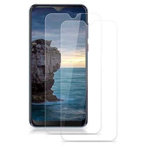 ROVLAK Panzerglas für HTC Desire 19+ Schutzfolie 2 Stück Panzerglasfolie 9H Festigkeit Bildschirmschutz Anti-Kratzen Tempered Screen Protector 2.5D Schutzglas HD Klar Folie für HTC Desire 19+