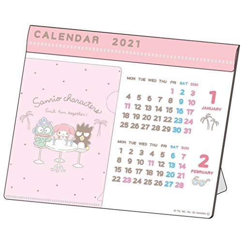 サンスター文具 サンリオ 2021年 カレンダー 卓上 サンリオキャラクターズ S8518890