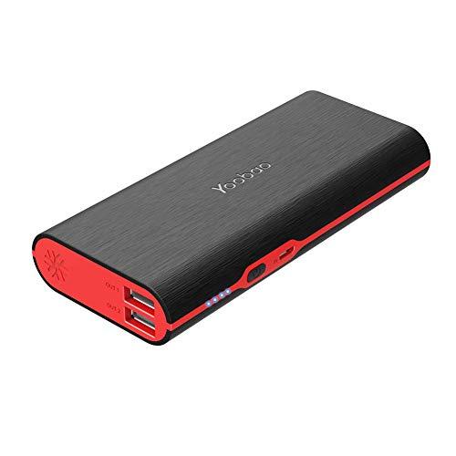 モバイルバッテリー (大容量 軽量 携帯やすい) Yoobao 10000mAh 携帯充電器 持ち運び充電器 急速充電器 USB...
