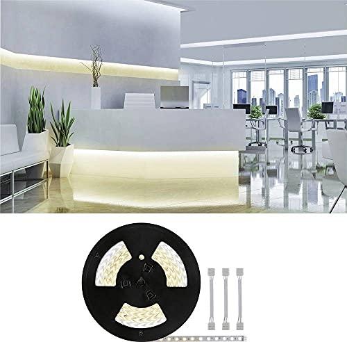 Paulmann 71041-Striscia LED MaxLED 500 con Cavo Adattatore da 20 m, Colore Bianco Tunable IP20, Incluso 1 x 72 Watt dimmerabile Argento plastica 2700 K