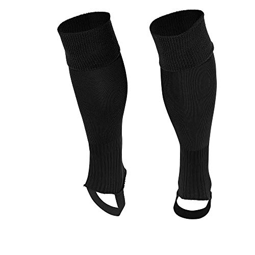 Stanno Uni Steg Stutzen - black, Größe Stanno:MINI