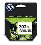 HP 303XL T6N03AE haut rendement, cartouche d'encre Authentique, imprimantes HP Tango et HP ENVY...