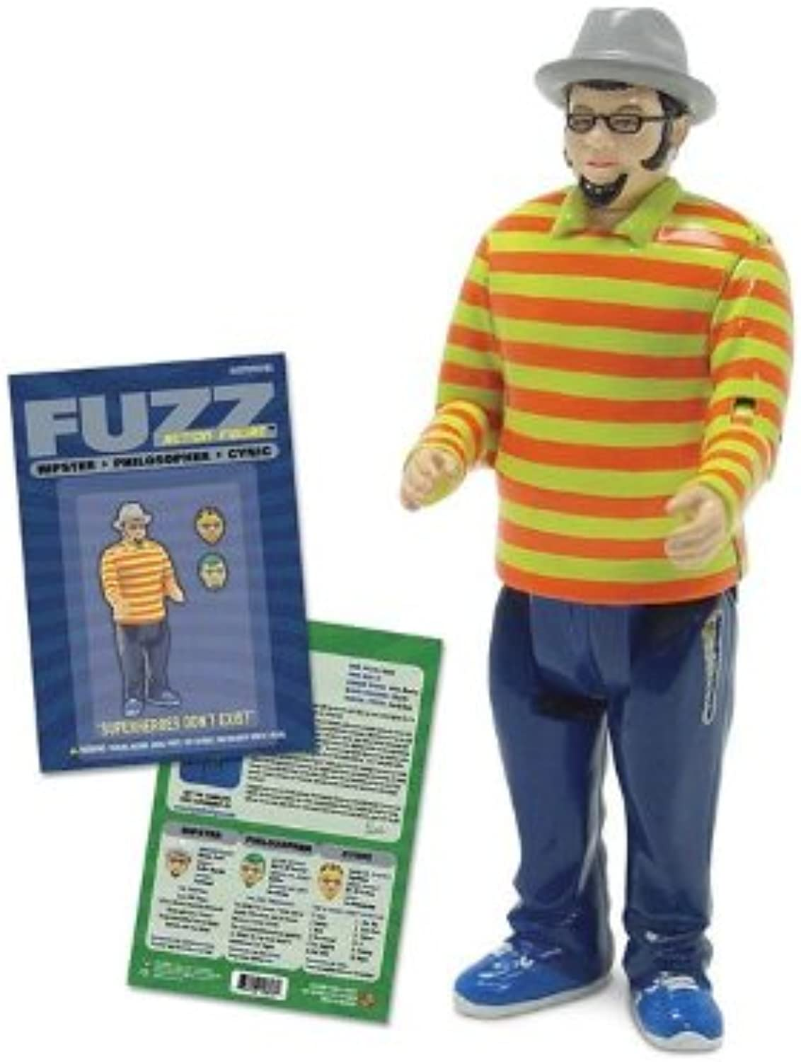 Accoutrements Fuzz The Hipster Action Figure