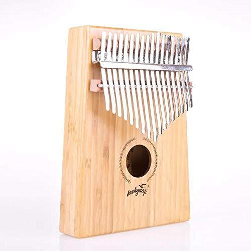 HAIHF Kalimba 17 Schlüssel,Daumen Carlin Marimba 17-Ton Finger Klavier Western Instrument