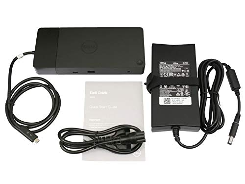 Dell WD19 USB-C port replikator incl. 130W ac-adapter suitable Latitude 11 (5175) series