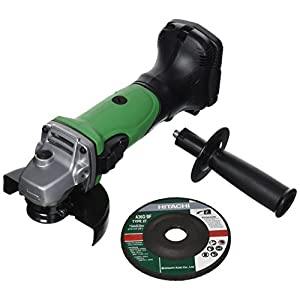 Hitachi G18DLW4 – Minia Amoladora 115 mm 18 V bateria presión sin baterias