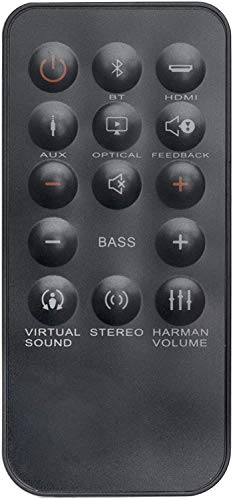 Pehtini New Replace Remote Control for JBL SB350 Soundbar Speaker System Controller